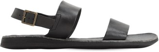 Brador Leather Sandals W/ Buckle