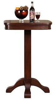 American Heritage Sarsetta Pub Table Color: Sierra