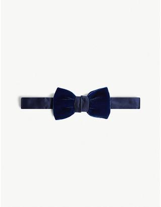 Lanvin Velvet bow tie