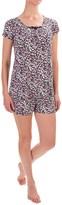 Ellen Tracy Short Pajamas - Short Sleeve (For Women)