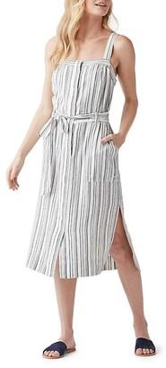 Splendid Bourne Slit Striped Dress