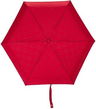 Moschino Mini Logo And Bear Print Umbrella