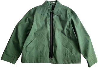 Carven Green Polyester Jackets