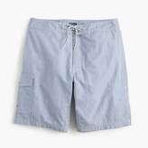 "J.Crew 9"" Board Short In Seersucker"