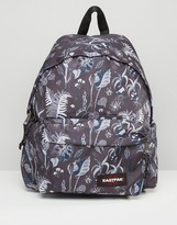 Eastpak Padded Pak'R Backpack In Leaf Print