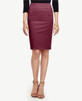 Ann Taylor Petite Seamed Pencil Skirt