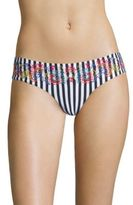OndadeMar Miranda Ciranda Striped Bikini Bottom