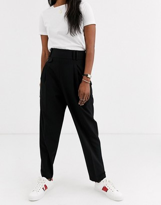 Asos Design DESIGN tailored smart high waist balloon trousers