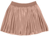 Mayoral Accordion-Pleated Metallic Skirt, Light Pink, Size 8-16