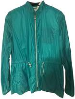 Fay Green Leather Jacket for Women