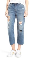 Women's Treasure&bond Mid Rise Baggy Crop Jeans
