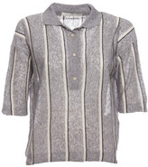 Golden Goose Deluxe Brand Striped Polo Shirt