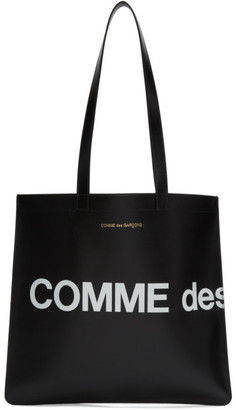 Comme des Garcons Wallets Wallets Black Huge Logo Tote