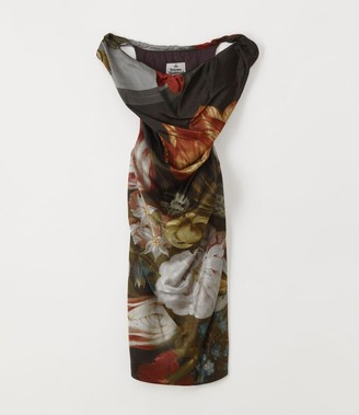 Vivienne Westwood Ginnie Pencil Dress Bosschaert Print