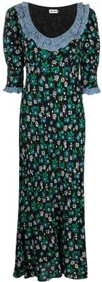 Rixo Juliette floral midi dress