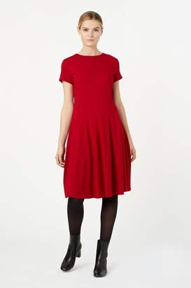 Hobbs Womens Red Tessa Dress - Red