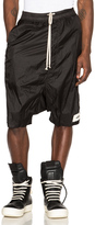 Rick Owens Pod Shorts with Patches