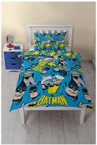 Marvel Batman Hero Single Duvet Cover Set