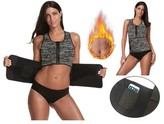 Prime Shaper Sauna Sweat 2 in 1 Tank Top with Adjustable Belt