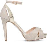 Carvela Gifted metallic heeled sandals