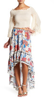 Flying Tomato Piece Floral Print Skirt