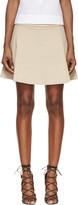 Isabel Marant Tan Mara Mini Skirt