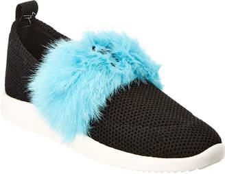 Giuseppe Zanotti Fur Sneaker
