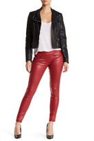 Hue Zippered Glossy Legging