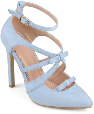 Journee Collection Womens Darion Pumps Pointed Toe Stiletto Heel