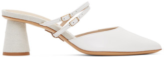 Jacquemus White Les Chaussures Basgia Heels