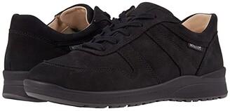 Mephisto Rebeca Perf (Navy Bucksoft) Women's Shoes