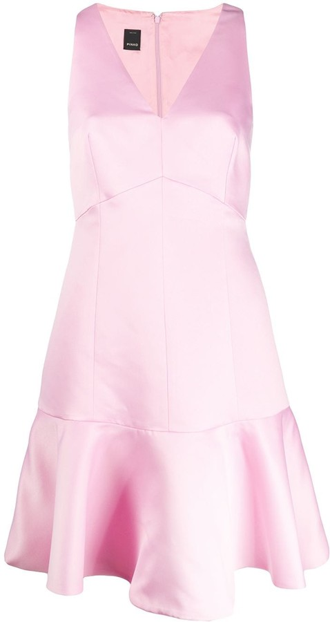 Pinko V-neck sleeveless dress
