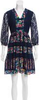 Anna Sui Silk Lace Dress w/ Tags