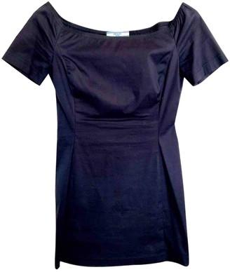 Prada Blue Cotton Dresses