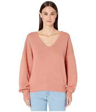 See by Chloe Scoop Neck Long Sleeve Sweater