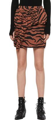 AllSaints Nia Zephyr Miniskirt