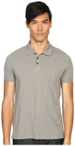 Vince Slub Cotton Short Sleeve Classic Polo Men's Short Sleeve Pullover