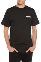 Brixton Men's Peabody Standard T-Shirt