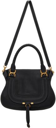 Chloé Black Medium Marcie Top Handle Bag