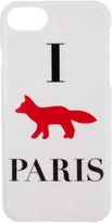 MAISON KITSUNÉ White i Fox Paris Iphone 7 Case