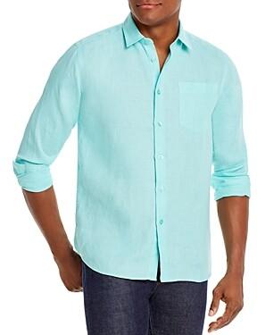 Vilebrequin Linen Classic Fit Shirt
