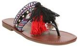 Sam & Libby Women's Bastian Pom Slide Thong Sandals