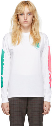 6397 White LA Long Sleeve T-Shirt
