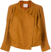 Forte Forte off-centre cropped jacket
