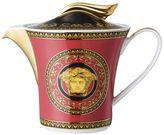 Versace Medusa Red Porcelain Teapot