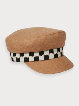 Scotch & Soda Wool-blend captain hat | Girls