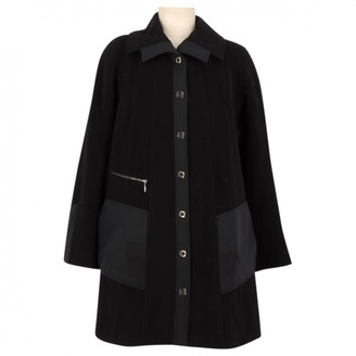 N. Non Signé / Unsigned Non Signe / Unsigned \N Black Wool Coats