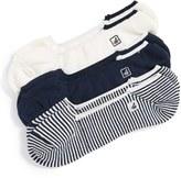 Sperry Men's Skimmers Feed Assorted 3-Pack Socks