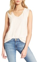 James Perse Women's Scoop Neck Tank