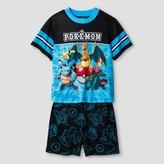 Pokemon Boys' Pajama Sets - Blue